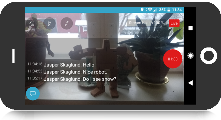 How to use the Bambuser Broadcaster App for Android - Bambuser